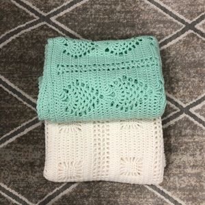 Handmade Baby blankets 48x33 inches